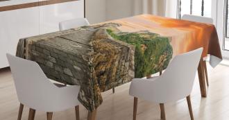 Old Brick Ruins Tablecloth