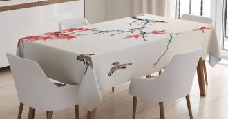 Romantic Spring Theme Tablecloth
