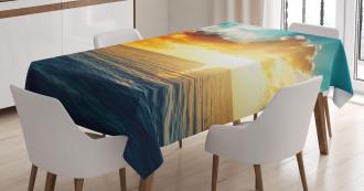 Magical Horizon Panorama Tablecloth
