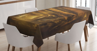 Mystic Adventure Print Tablecloth