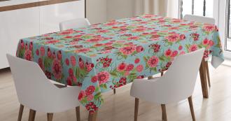 Oriental Bud Leaf Tablecloth