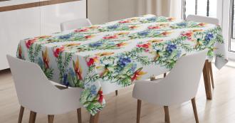 Shabby Chic Lilacs Tablecloth