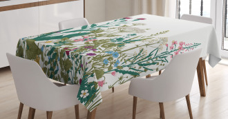 Spring Garden Hydrangeas Tablecloth