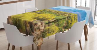 Landscape of Desert Tablecloth