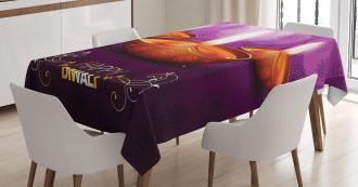 Diwali Religious Festive Tablecloth
