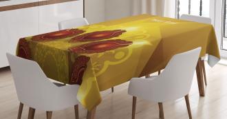 Paisley Traditional Tribal Tablecloth