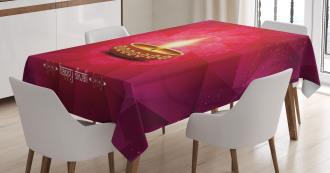 Festive Celebration Tribal Tablecloth