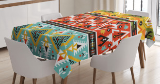 Love and Adventure Aztec Tablecloth