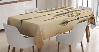 Bohemian Feathers Tablecloth
