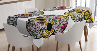 Skull Celebration Tablecloth