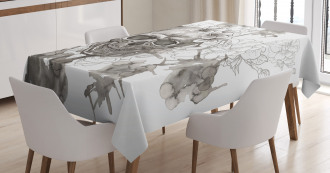 Festive Designed Print Tablecloth