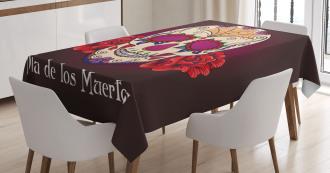 Dia de Los Muertos Tablecloth