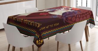 Spanish Festive Art Tablecloth