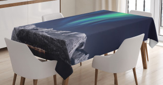Northern Night Norway Solar Tablecloth