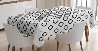 Trippy Fractal Rounds Tablecloth