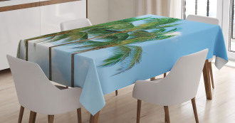 Exotic Idyllic Nature Tablecloth