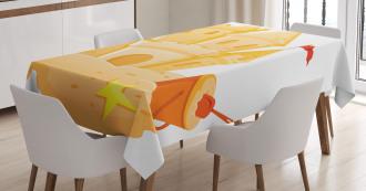 Sand Castle Kingdom Summer Tablecloth