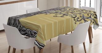 Nature Eco Sketchy Tablecloth