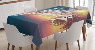 Tropic Paradise Beach Tablecloth