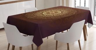Asia Spiritiual Culture Tablecloth