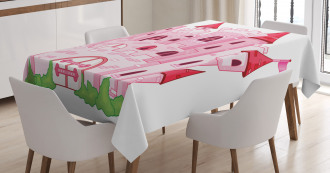 Princess Magic Kingdom Tablecloth