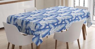Flower Leaves Porcelain Tablecloth