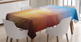 Horizon Seascape Bay Tablecloth