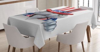 Uncle Sam Hat Tablecloth