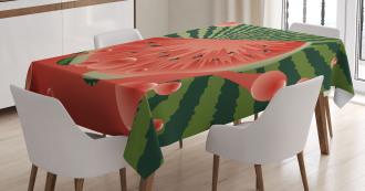 Vegetarian Garden Health Tablecloth