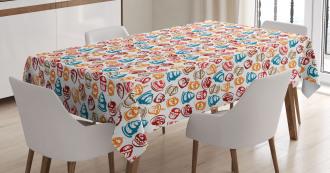 Cupcakes Cakes Creams Tablecloth