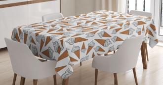 Yummy Desert Gelato Tablecloth