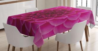 Fresh Bloom Petal Nature Tablecloth