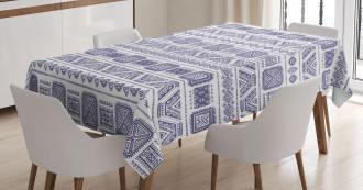 Mexico Aztec Ethnic Boho Tablecloth