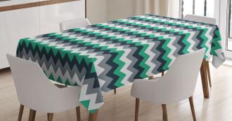 Symmetric Arrows Stripe Tablecloth