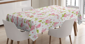 Nature Blossom Buds Tablecloth