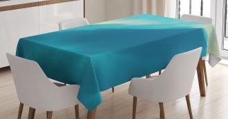 Artwork Cloud Wave Tablecloth