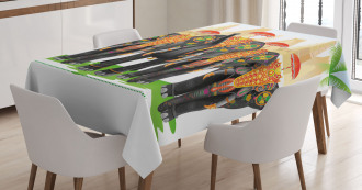 Traditional Ritual Tablecloth