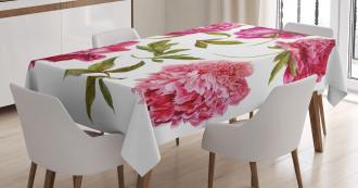 Spring Buds Vivid Tones Tablecloth