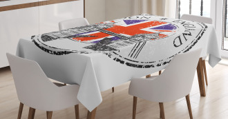 Flag Nostalgic National Tablecloth