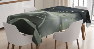 Interior Urban Tunnel Tablecloth