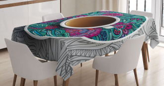 Coffee and Herbal Tea Tablecloth