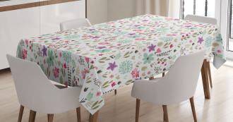 Country Nature Leaf Tablecloth