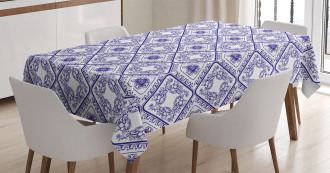 Art and Craft Flower Tablecloth