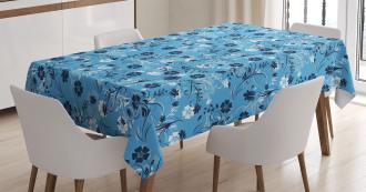 Shabby Chic Petals Tablecloth