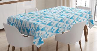 Geometric Shape Triangle Tablecloth