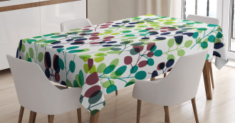 Seasons with Nature Tablecloth