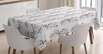 Curvy Dotted Branches Tablecloth