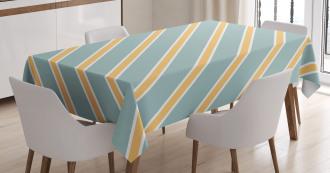 Bold Thin Stripes Tablecloth