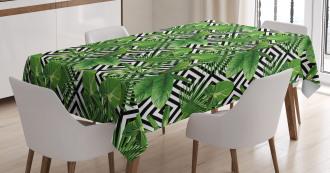 Modern Coconut Palm Tablecloth