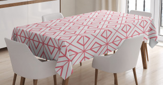 Vintage Triangles Tablecloth